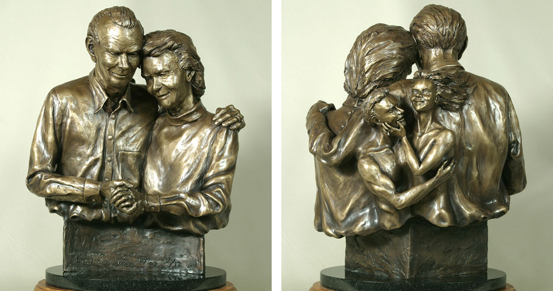 Marriage - Bronze Sculpture