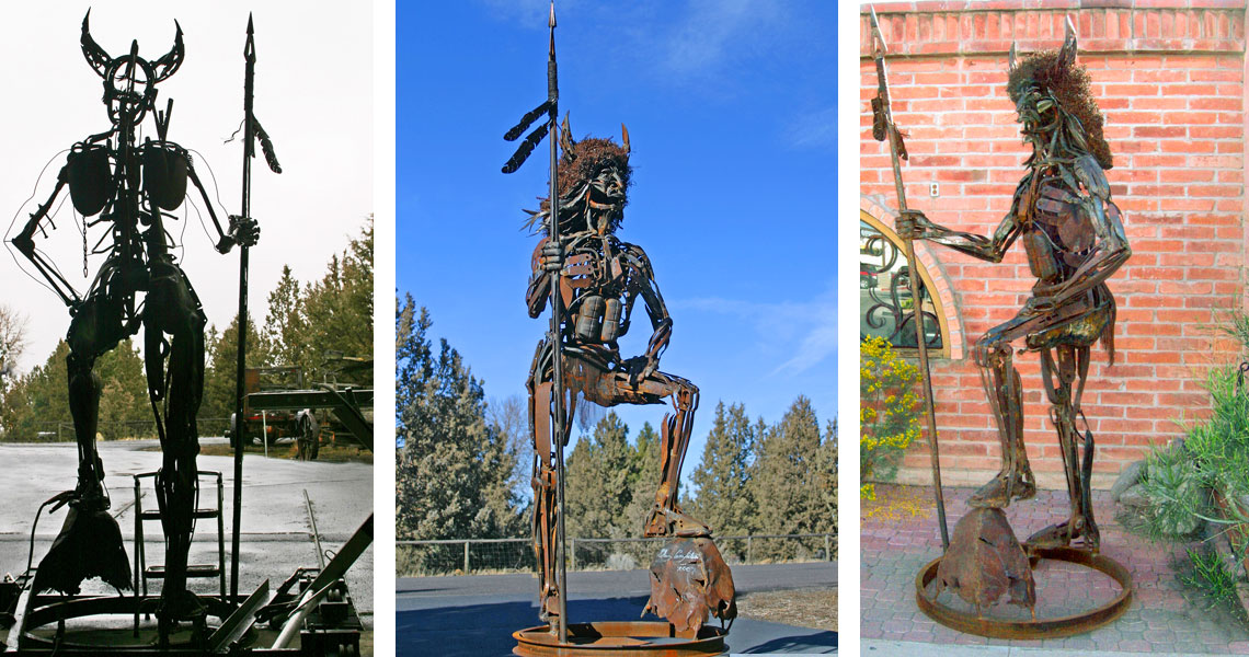 Native Son - Steel Sculpture