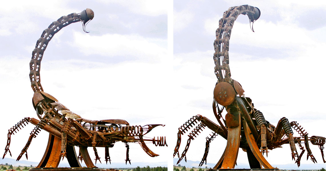Tails You Lose - Steel Sculpture