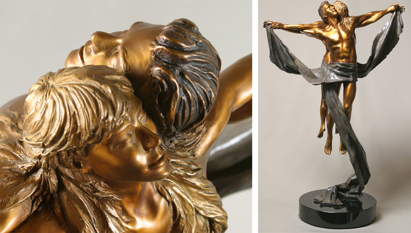 - bronze sculpture
