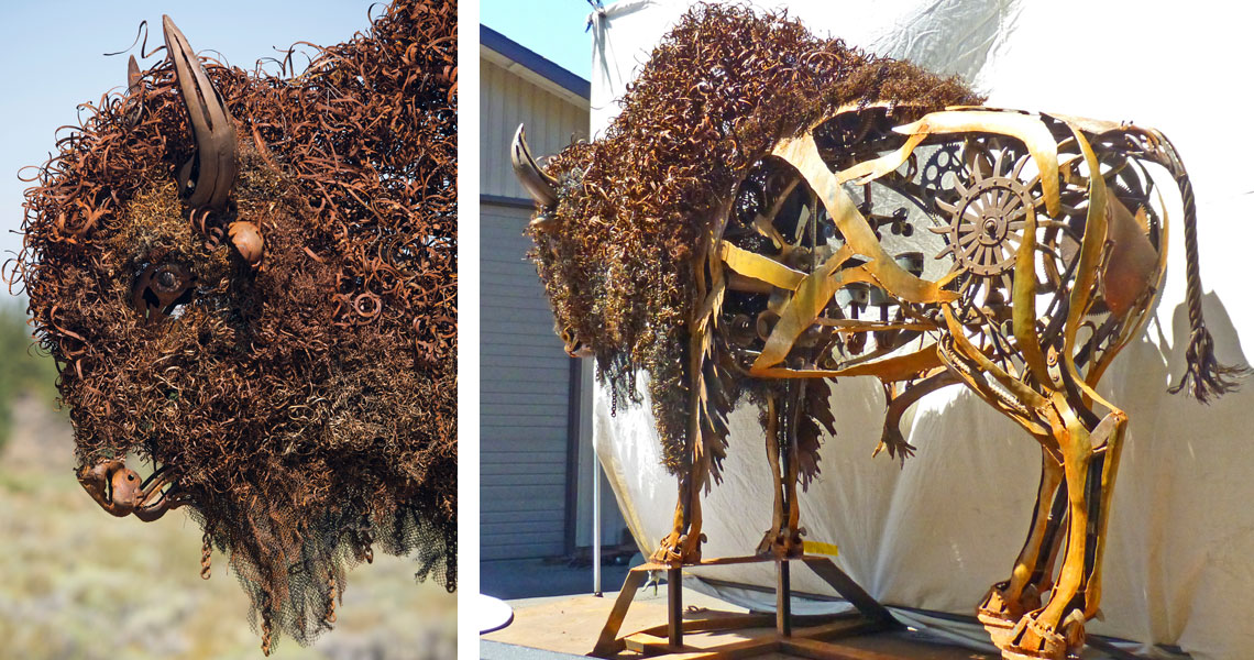 Wooly Bully - Steel Sculpture